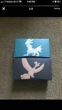 Pokemon boxes to hold cards