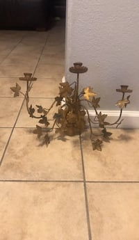 brass. metal wall candle holder North Las Vegas, 89032