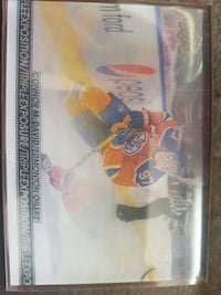 Connor McDavid triple exposure tim hortons card St. Catharines, L2P 2Y1