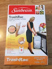 Sunbeam Trashrac - Kitchen Garbage Can