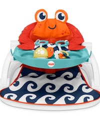 Baby chair with tray