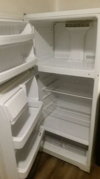 white top-mount refrigerator St. Louis, 63123
