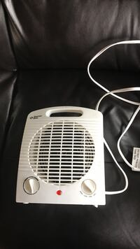 white corded portable fan Langley, V3A 5C1