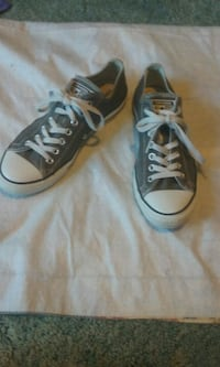 pair of gray  Converse All Star  New Cordell, 73632