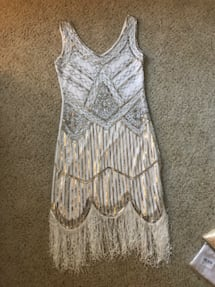 Brand new flapper dress