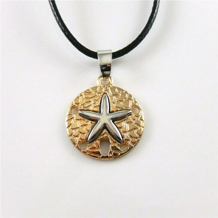 Real 18K Gold Fill Pendant Chain Necklace New