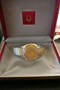 gold plated watch accutron by bulova Gladstone, 97027