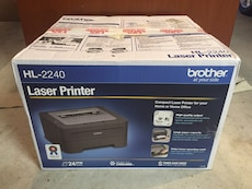 Brother Laser Printer Like New for sale  San Francisco Intnl Airport, CA