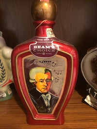Vintage antique liquor bottle statue Mozart Rockville, 20852