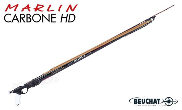 Used Beuchat Marlin Carbon HD Speargun 125 cm for sale in