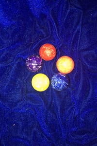 Colorful rubber Bouncy balls