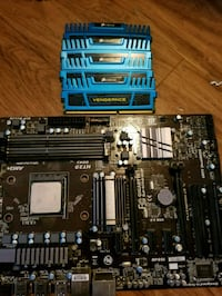 black and blue computer motherboard Sarasota, 34232
