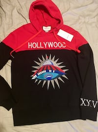 Gucci hollywood hoodie large unisex