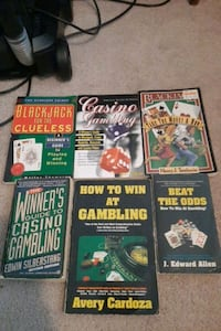 Casino and blackjack books
