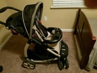 baby's black and gray travel system Antioch, 94509
