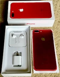 Apple iPhone 7 Plus 128GB Red Special edition - Unlocked