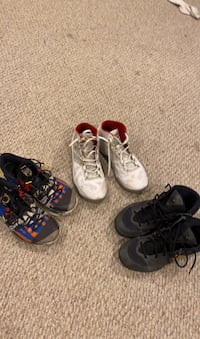 various basketball shoes
