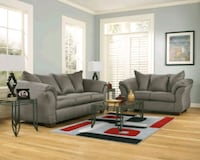 Brand new gray Ashley sofa & loveseat College Park