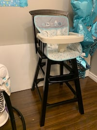Wooden high chair, great shape we just don't use it anymore, $70 OBO London, N5V 4P4