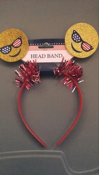 Patriotic headband for girls Bowie, 20715