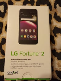 Lg fortune 2 cricket service. Has 4 mo prepaid Morristown