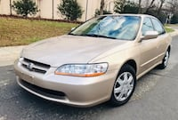 "Only $3300 • 2000 Honda Accord "" LOW miles Leather Clean Title  Hyattsville"