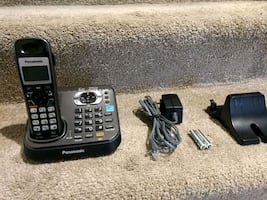Panasonic answering machine with cordless phone