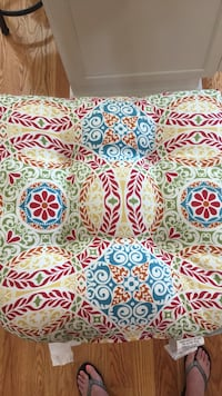 Like New Two Outdoor Patio Chair Cushions