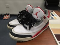 Fire red 3s  Capitol Heights, 20743