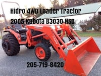 4WD Loader Tractor 4x4