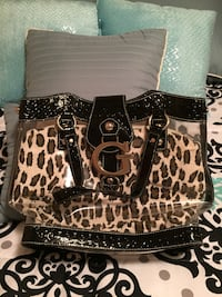 Guess purse leopard look with insert bag  Guelph/Eramosa, N0B 1B0
