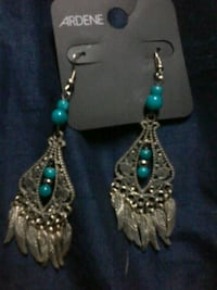 Native inspired feathered earrings  Surrey, V3R 3L6