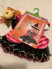 Baby Whimsical Witch Halloween Costume-12-18months Mississauga