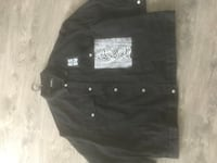 Raf simons denim jacket never worn authentic!!!! Burnaby, V5A