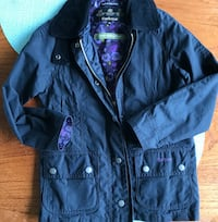 Sz 6/7 Girls Barbour Rain Coat Vancouver, V5T 2A3