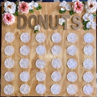Donut wall + 5 acrylic stands for wedding, bridal shower, etc Arlington, 22203