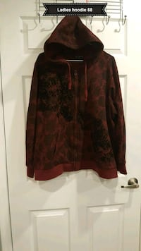 black and brown floral zip-up jacket Milton, L9T 7A4
