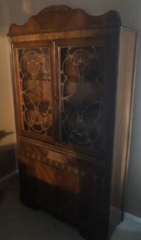 Stunning Antique/Art Deco Cabinet MCLEAN