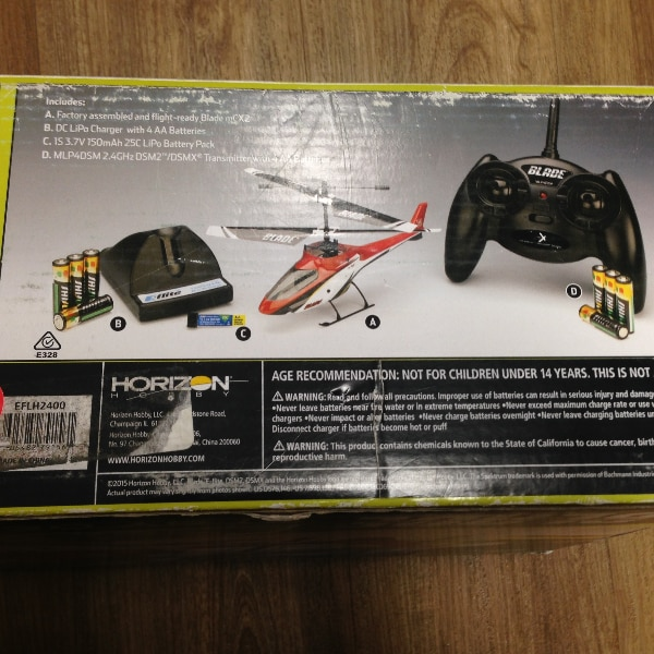 New RTF Blade MCX2 RC Helicopter