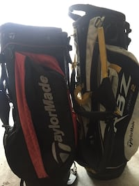 Two taylormade golf bags  Langley