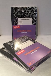 Composition Notebooks Wide Ruled