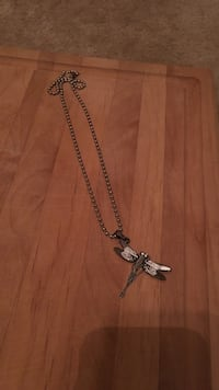 silver dragonfly pendant ball necklace Charleston, 29407
