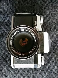 EDIXA ISCOTAR 1:2.8 /50MM WEST GERMANY CAMERA
