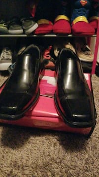 black leather loafers Irving, 75038