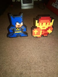 limited edition Light-up Batman and Zelda Lego Characters