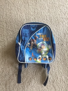 blue Toy Story backpack