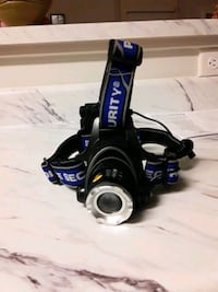 Police Security led Head lamp