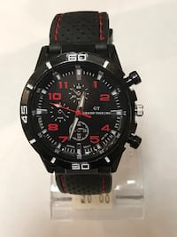 round black Grand Touring chronograph watch Surrey, V4N