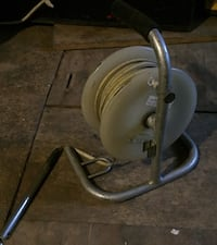 gray and white canister vacuum cleaner Houston, 77086