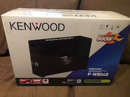 Kenwood down firing subwoofer